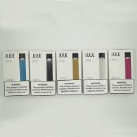 JUUL Basic Kit Includes USB Charger and Battery Device Newest Packaging 5 Colors Available 100% High Quality