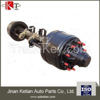 America type 16 ton outboard trailer axle