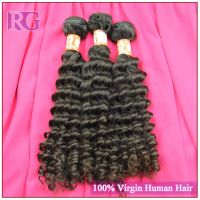 Brazilian Deep Wave 8inch -30inch Deep Curl Hair Bundles RG VIRGIN HAIR