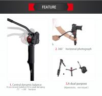 miliboo MTT705A Portable Aluminium Tripod for Professional Camera Camc