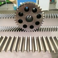 custom steel CNC C45/S45 gear rack and pinion gearing manufacturer China