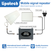 New design low price 4g mobile signal repeater with LCD screen AGC/ALC function