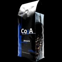 CofA COLOMBIA - SUPREMO coffee grain 1000g Arabica 100% (250g/1000g)