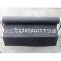 Rubber coated fabric sheet