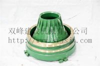 Metso GP100 Bowl Liner Concave Cone Crusher Parts High Manganese Steel Casting