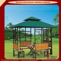 Square Double Tops Outdoor Pavilion D-1005