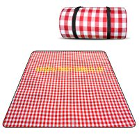 picnic blanket outdoor picnic mat with pvc waterproof