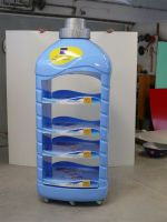 Display POS bottle rack
