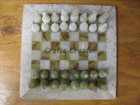 MARBLE ONYX CHESS SET