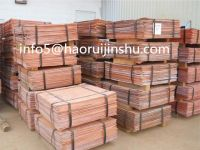 Cathodes Copper  99.99%  Manufacturer