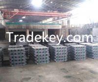 Pure lead ingot  99.994% from China factory, lead metal ingot,