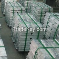 zinc ingot 99.995%, zinc ingot 99.99% with factory price for sale