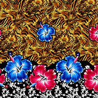 Thai Dye Design Cotton Rayon
