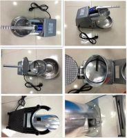 Commercial electric ice crusher