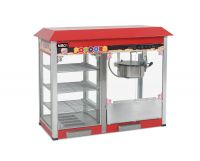 Popcorn Machine with warming cabinet