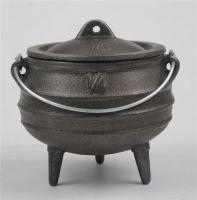 Three Legged Cast Iron Pots