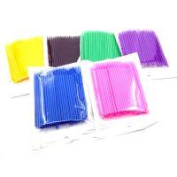 Disposable Micro Brushes(Fine /Reg. Tip) for eyelash extensions (100pcs/pot)