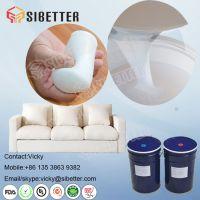 Skin Safe Liquid Foaming Silicone Rubber for Filling Sofa