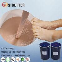 Human Skin Color Medical Grade Silicone for Prosthetic Foot