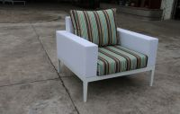 outdoor fabric sofa chair (73801-F)