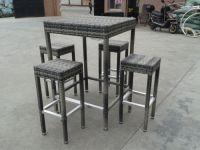 outdoor furniture rattan bar table and bar stool (B21)