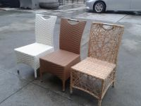 rattan furnture dining chairs(K02)