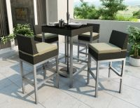 outdoor furniture bar table and chair (B14)