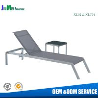 Stainless steel furniture chaise loungers( XL02&XTL01)