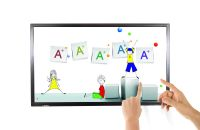 43 Inch All-in-One Dual System Touch Display Panel/ Flat Touch Screen Display/Smart TV/LED TV