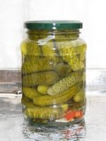 CANNED PICKLE CUCUMBER
