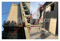 Engineering construction coating spray paint machine
