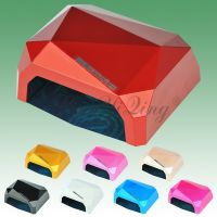 36W Diamond UV tube Led nail dryer portable nail lamp