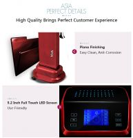 Salon Use Digi Hair Curler Safety 36V output Voltage Asia Digital Hair Perm Machine Salon Equipment Hair Styling Tool Phantom Deluxe Edition color Red