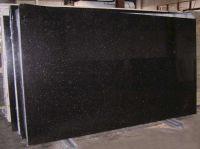 Black Galaxy granite blocks and slabs