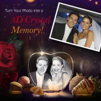 3D Crystal gift: Make Special Day And Special Memories