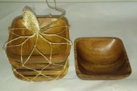 ACACIA WOODEN TABLEWARE