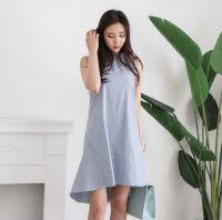 Stylish Linen line dress for ladies