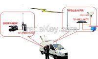 Remote Microwave Video Transmission System