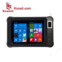 "Kcosit K75 Rugged Windows Tablet PC Fingerprint Reader UHF RFID IP67 Waterproof 7"" 1280x800 HDMI 2D Barcode Scanner PDA"