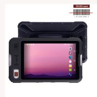 "2019 original Kcosit P9000 Rugged Android Tablet PC 8"" Waterproof Fingerprint Reader PDA Handheld Mobile Terminal 4G UHF RFID Reader"