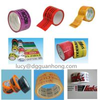 China supplier offer printing OEM strong sticky bopp cello adhesive packing tape for carton sealing