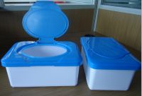plastic boxes  for wet wipes plastic containers