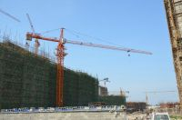 Chinese supplier 6tons QTZ5610 tower crane machinery with 56m jib for construction building