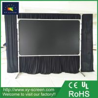 XYSCREEN 200 inch fast folding projection screen commercial exhibition show screen inflatable projector screen