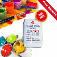 dioxyde de titane rutile r218 water solvent inorganic powder pigments titanium
