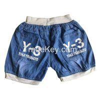 Wholesale Children Summer short trousers kid fashion jeans