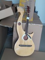6/6/8 Strings Double neck Electric harp guitar