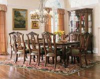 CHIPPENDALE DINNING SET (TMF-B-214 & TMF-A-122)
