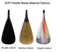light weight 3 pieces adjustable surf board type sup paddle
