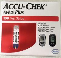 Accu-Chek Aviva Plus Test Strips 100 Ct. Retail